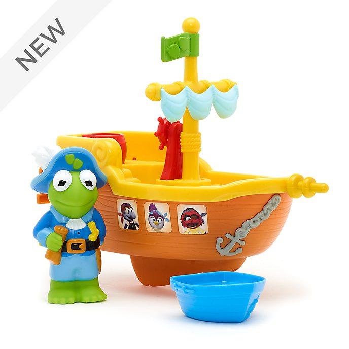Disney Store Kermit's Pirate Tubtime Cruiser, Muppet Babies