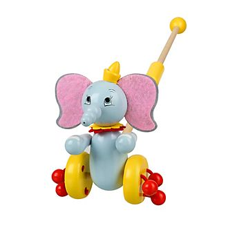 Dumbo Wooden Push Along Toy