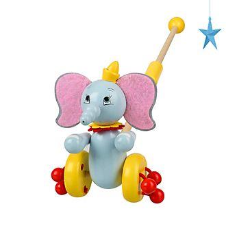 Jouet à pousser en bois Dumbo