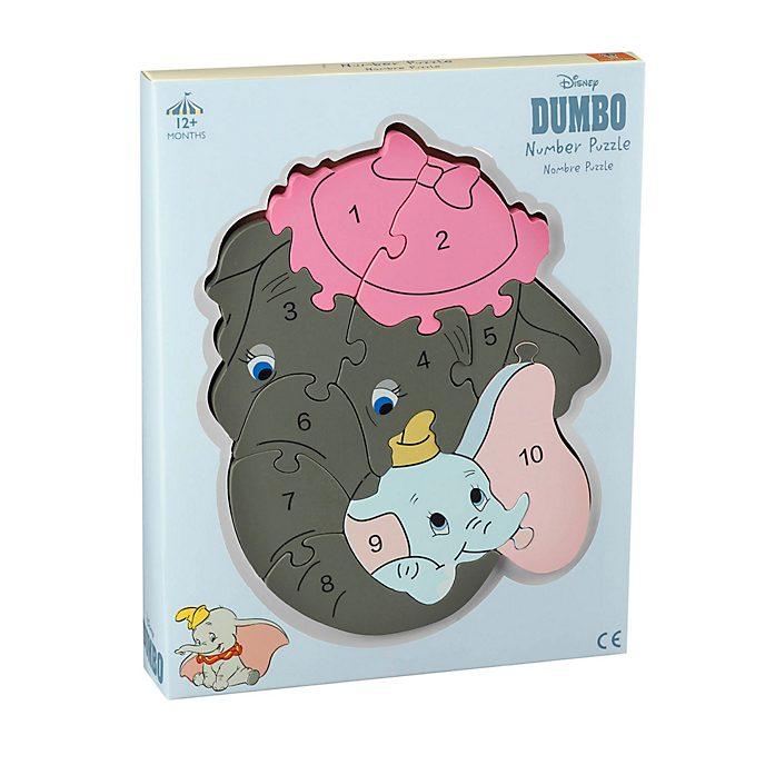 Puzle con número Dumbo