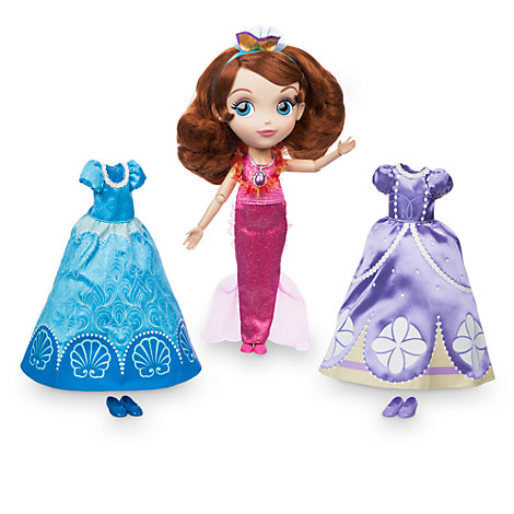 Sofia The First Wardrobe Doll Set