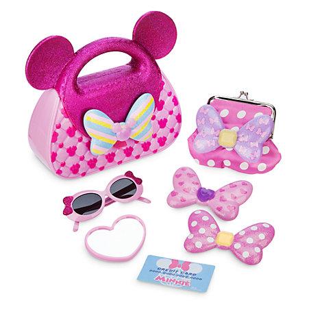 Minnie Mouse taske med tilbehoer