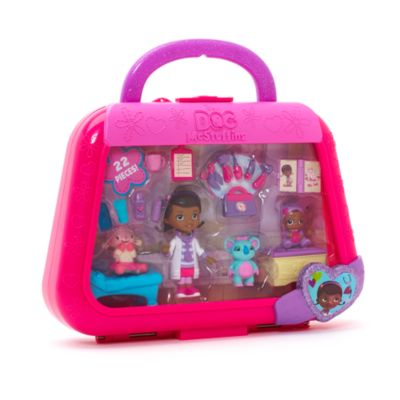 Ensemble de mini figurines Baby Cece Docteur La Peluche