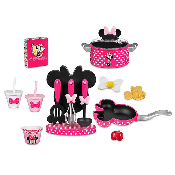 Minnie Mouse Play Kitchen: Minnie Mouse Kitchen Cooking Play Set