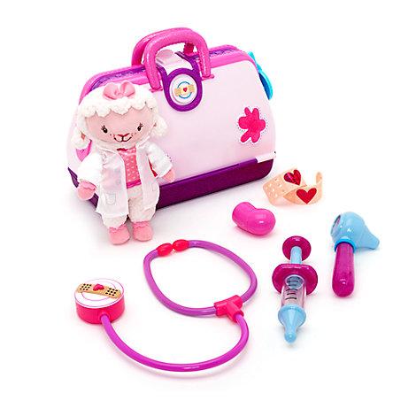 Set da gioco ospedale Dottoressa Peluche con Bianchina