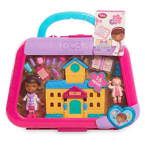 Doc McStuffins Spielzeugärztin - Krankenhaus-Set mit Minifiguren