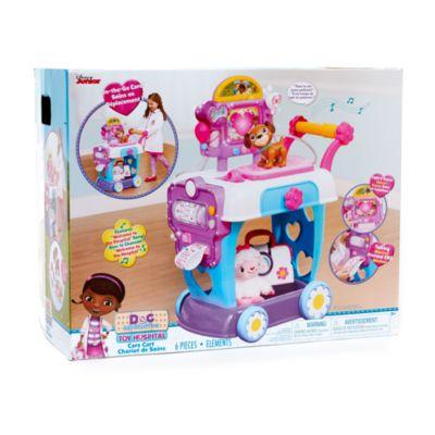Carro hospital juguetes, Doctora Juguetes