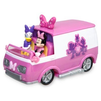 Tapis de jeu avec camping-car Minnie Mouse