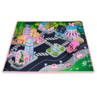 Minnie Mouse Playmat With Van