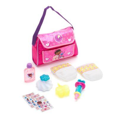 Set borsa per cambio neonato Dottoressa Peluche