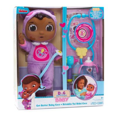 Doc Mcstuffins Baby Cece Check Up Doll