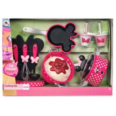 Set da gioco accessori per cucinare Minni