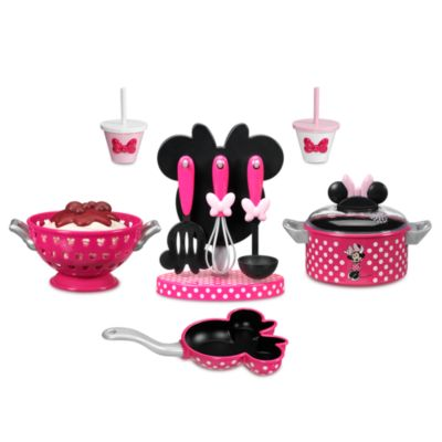 Minnie Mouse Toy Cooking Set