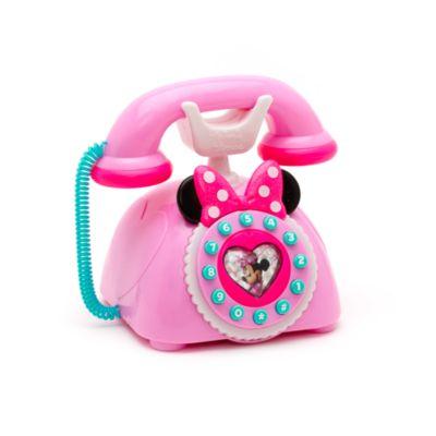 Legetøjstelefon med Minnie Mouse og de glade hjælpere
