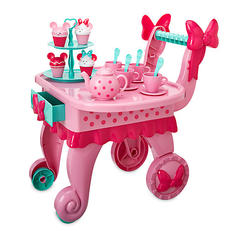 Minnie Mouse Musical Treat Cart, Minnie's Bow-Toons
