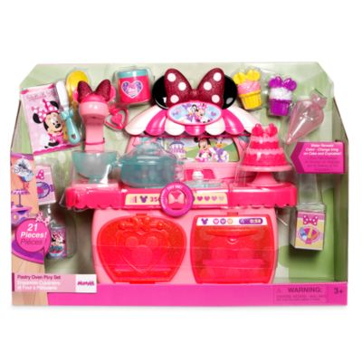 Minnie Mouse Toy Pastry Oven Play Set, Minnie's Bow-Toons