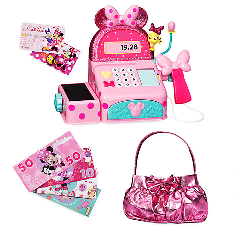 Caisse enregistreuse Minnie Mouse, La Boutique de Minnie