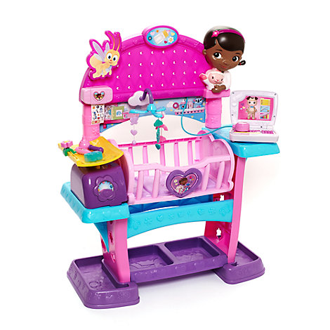 Doc Mcstuffins Baby All In One Nursery Play Set