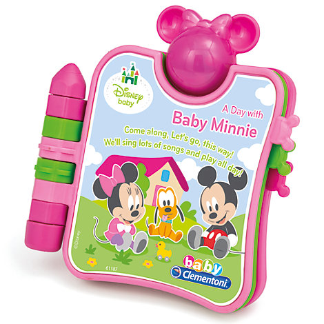 Minnie Mouse Baby Electronic Activity Book