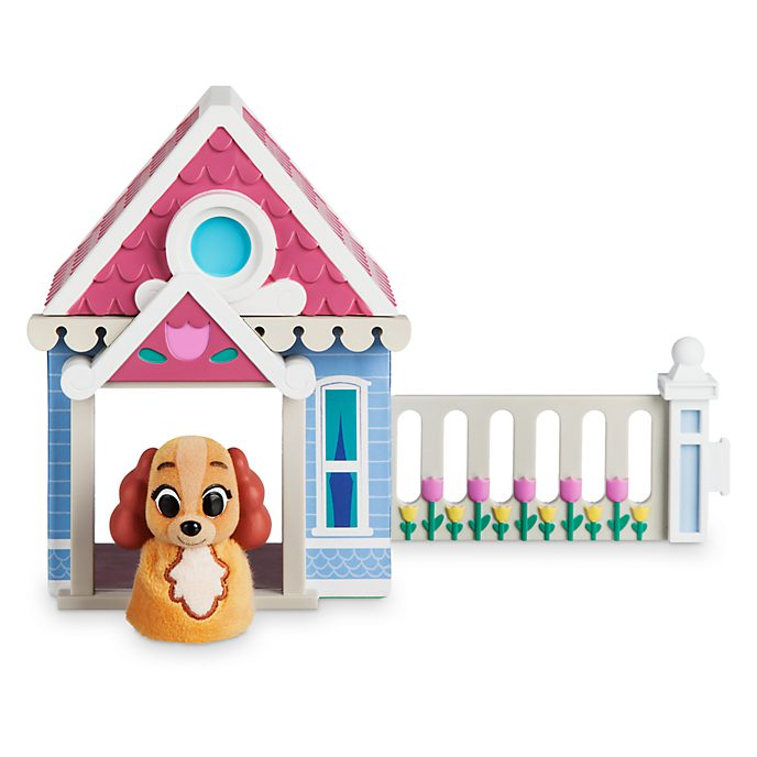 Disney Store Colette Furrytale Friends Starter Home Playset