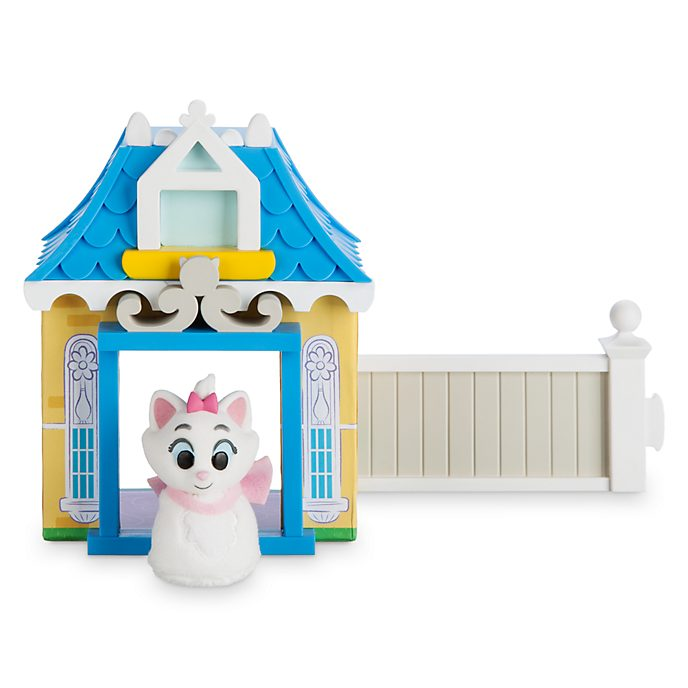Disney Store - Marie - Furrytale Friends Starter Home Playset