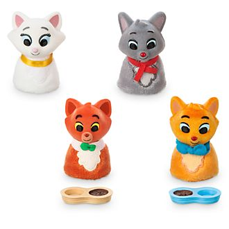 Disney Store Aristocats Furrytale Friends Family Pack Playset