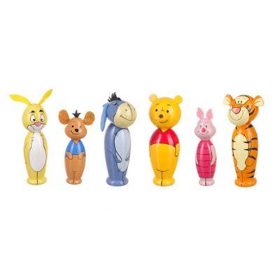 Birilli in legno Winnie the Pooh