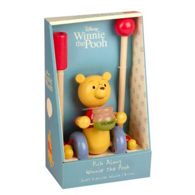 Jouet à pousser en bois Winnie l'Ourson