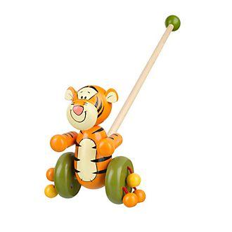 Juguete de empuje en madera Tigger