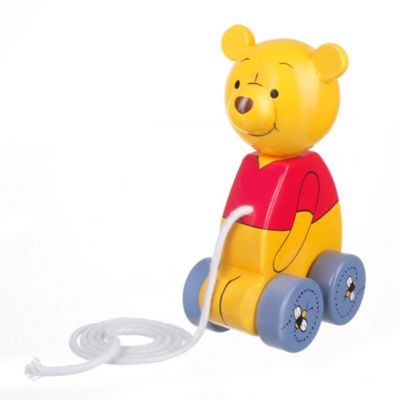 Winnie the Pooh Wooden Pull Along Toy