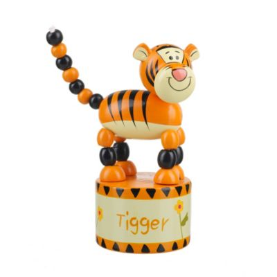 Tigger Wooden Push Up Toy