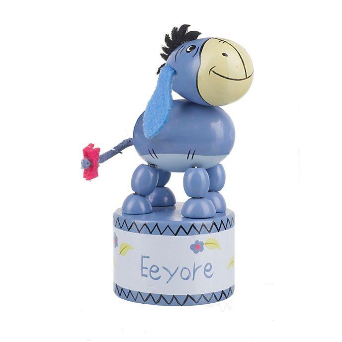 Figurine à poussoir en bois Bourriquet