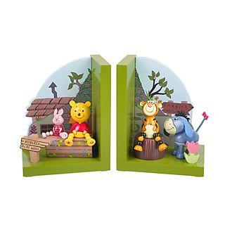 Sujetalibros de madera Winnie the Pooh