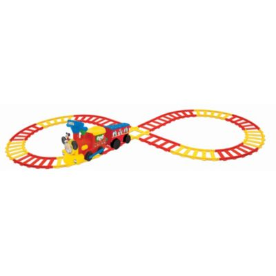 Mickey Mouse Ride-On Train and Track Set
