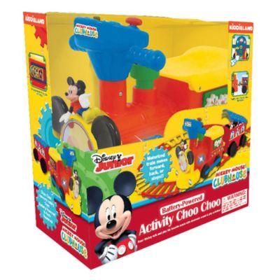 Set de tren de paseo y vías Mickey Mouse