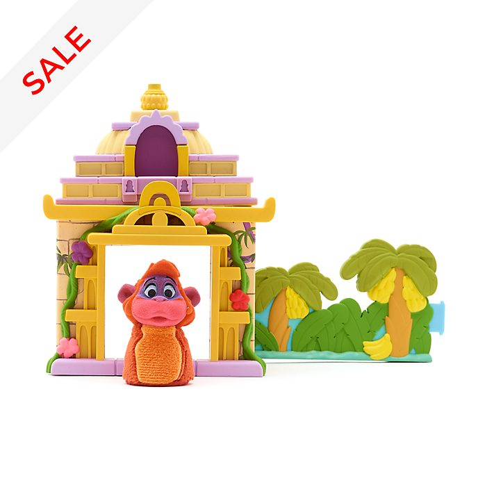 Disney Store - King Louie - Furrytale Friends Starter Home Playset