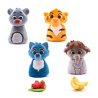 Set de muñecos El Libro de la Selva, Furrytale Friends, Disney Store