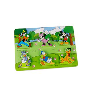 Mickey and Friends Baby Wooden Puzzle