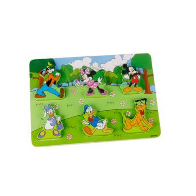 Puzzle en bois Mickey et ses amis pour bébé