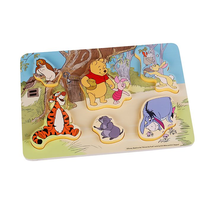 Winnie Puuh und Freunde - Holzpuzzle für Babys