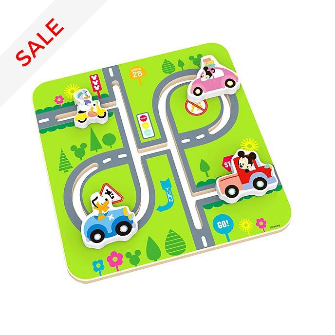 Micky und Freunde - Holzlabyrinth für Babys