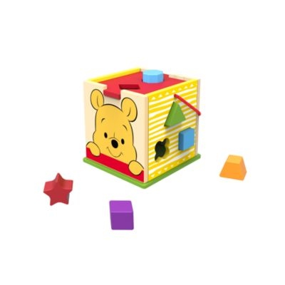 Bloques clasificables madera para bebé Winnie the Pooh