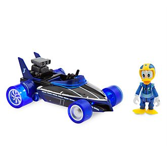 Disney Store Donald Duck Super-Charged Pullback Racer