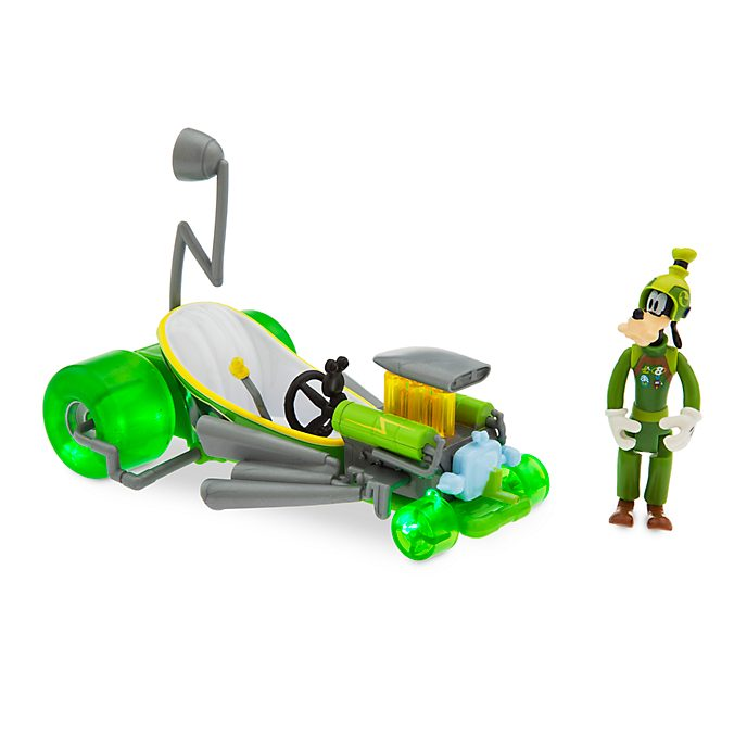 Disney Store Goofy Super-Charged Pullback Racer