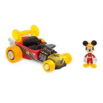Disney Store Mickey Mouse Super-Charged Pullback Racer