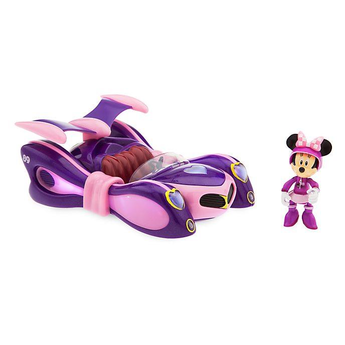 Coche carreras con movimiento por retroceso repleto de elementos Minnie, Disney Store