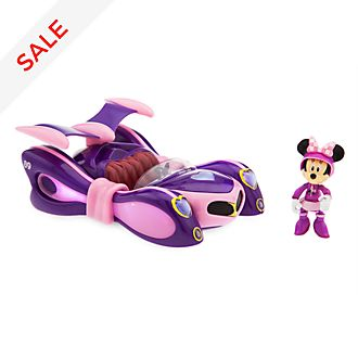 Disney Store Minnie Mouse Super-Charged Pullback Racer
