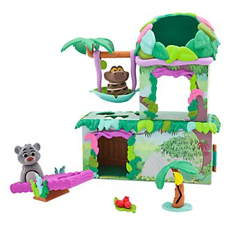 Disney Store The Jungle Book Furrytale Friends Deluxe Playset