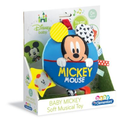 Mickey Mouse Baby Soft Musical Toy