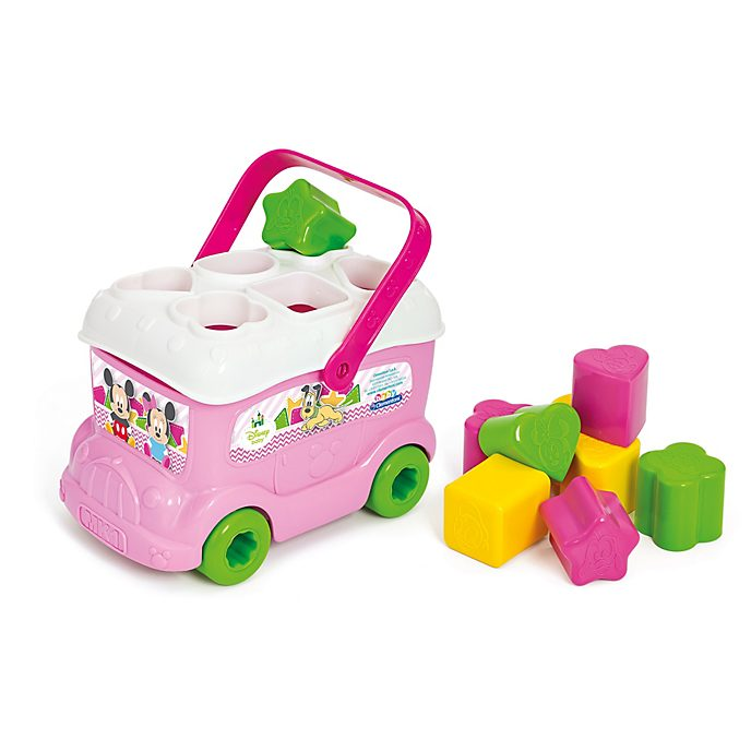 Clementoni Minnie Mouse Shape Sorter Bus